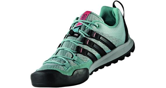 adidas TERREX Solo Shoes Women Clear Onix/Vapour Steel/Core Black